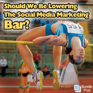 Should we Lower the Social Media Bar